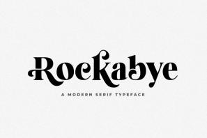 Rockabye - A Modern Serif