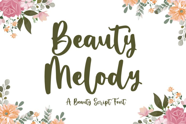 Preview image of Beauty Melody – Beauty Script Font