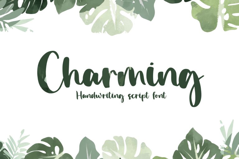 Preview image of Charming – Handwriting Font