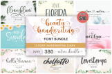 Last preview image of Beauty Handwriting – Font Bundle