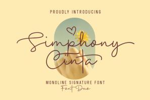 Simphony Cinta - Font Duo
