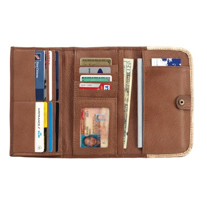 American West Mohave Canyon Ladies' Tri-Fold Wallet
