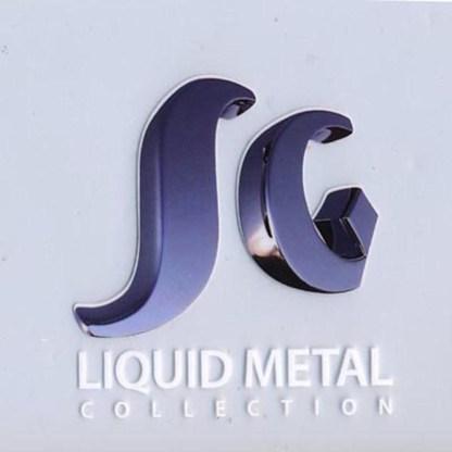 Sergio Gutierrez Liquid Metal Small Diamond Drop Sz 7 Mini K Bracelet