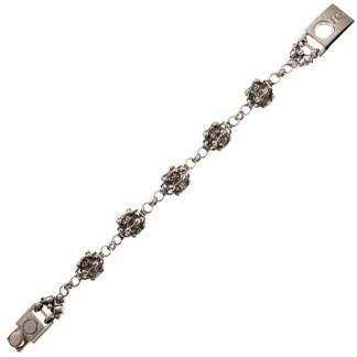 Sergio Gutierrez Liquid Metal Crystal Fireball Bracelet Together Anitque Silver RTB 25