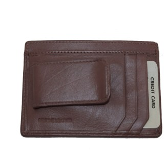 Silver Fever® Men's Manetic Money Clip Wallet Gift Boxed