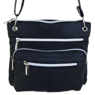 Silver Fever® East West Cross Body Bag