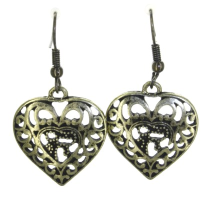 Silver Fever® Angel Heart Tussle Set Gold Multi