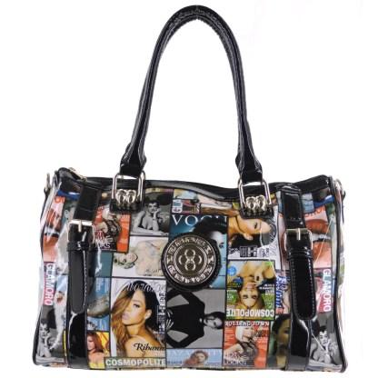 Silver Fever® Novelty Print Fashion Multicolor & Black