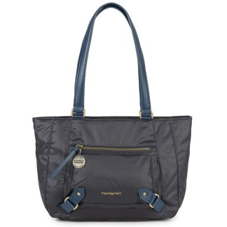Hedgren Ambition Aspire Business Tote Tablet Handbag Thunder Blue