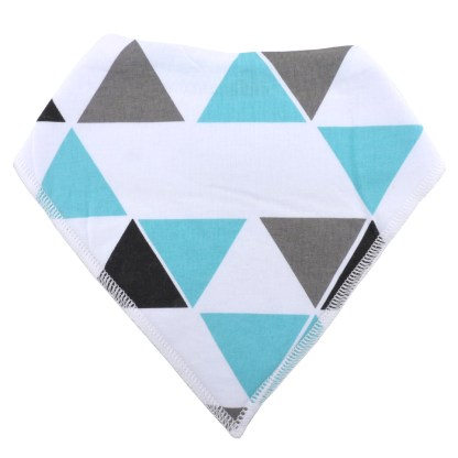Baby Bandana Drool Bib Organic Absorbent Cotton Gift Set of 4 by Fashionista Babies Tribal Fun