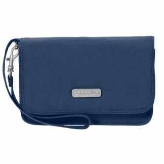Baggallini RFID Wristlet Wallet with Flap  Pacific