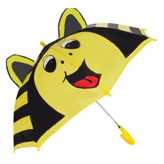 Fashionista Kids Animal Umbrella Sun Rain Protection Windproof Bumble Bee