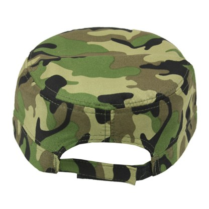 Silver Fever® Classic Baseball Hat 100% Adjustable Unisex Trucker Cap - Made to Last Camouflage Square Bill