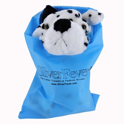 Silver Fever® Plush Soft Animal Beanie Hat w/ Built-In Mittens Paws Husky