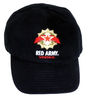 Silver Fever® Classic Baseball Hat 100% Adjustable Unisex Trucker Cap - Made to Last Red Army Vodka