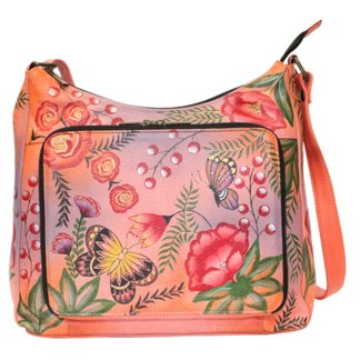 Anna By Anuschka Tote Handbag  Medium Summer Garden