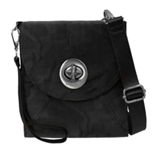Baggallini Athens Cross Body - RFID Wallet Handbag -Travel Companion - Black Camo