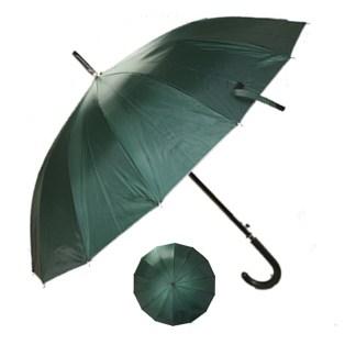 "Rain or  Sun UV Protection Umbrella Silver Fever ® 42 ""CanopyCoverageWindproof Winter Green"