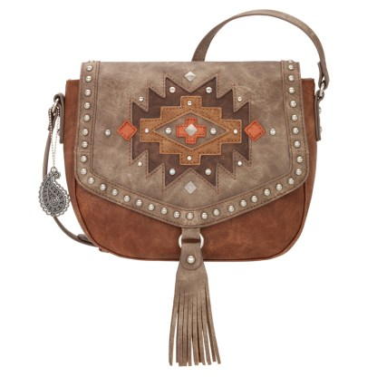 American West Bandana Crossbody Shoulder Purse Copper Earth Bound [CLONE]