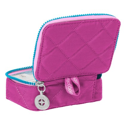 Baggallini Travel Pill Case Fushia/Pink