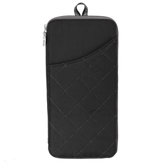 Baggallini RFD Travel Wallet Passport Size Black/Charcoal
