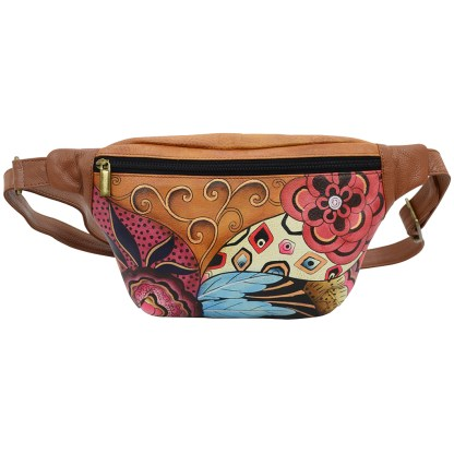 Anna by Anuschka Leather Fanny Pack - Tribal Potpouri