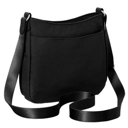 Baggallini Uptown Bagg Medium Crossbody with RFID Wristlet, Black