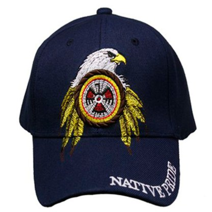 Silver Fever® Classic Baseball Hat 100% Adjustable Unisex Trucker Cap - Made to Last -- American Eagle & Flag