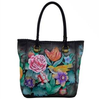 Anuschka Leather Large Shopper Vintage Bouquet
