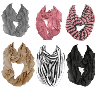 Silver Fever Infinity Scarf