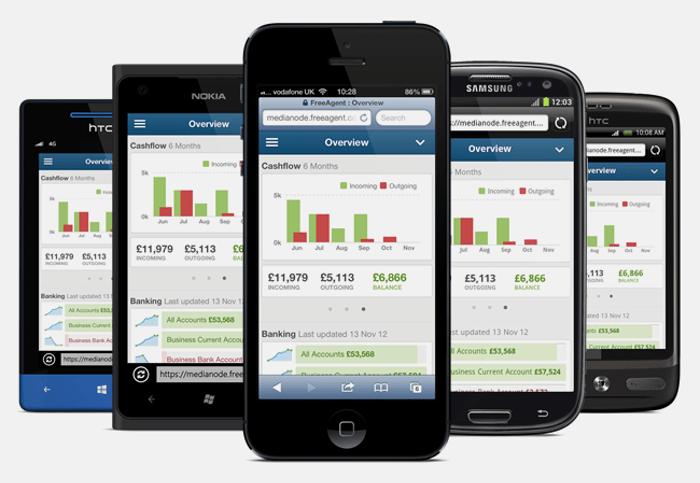 FreeAgent online accounting software