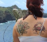 my tats (well sunscreened!)