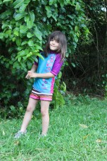 Sidda loved the gardens, the plants, and the bamboo!