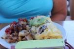 moms giant omlette