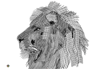 Typography_art_of_a_Lion_by_skiboy24
