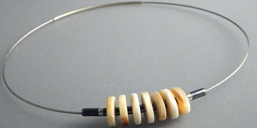 586 - Multi Fossil Necklace