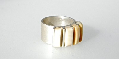 777 - Five Piece Fossil Ring
