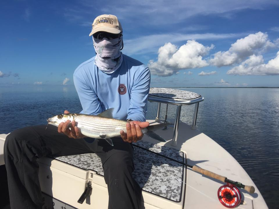 Fall time Bonefish and permit fishing