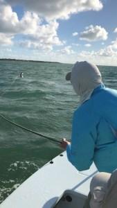 Flyfishing for tarpon