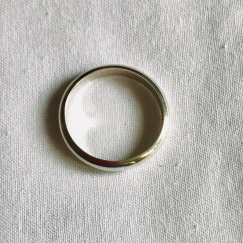 Wedding Band -4mm wide