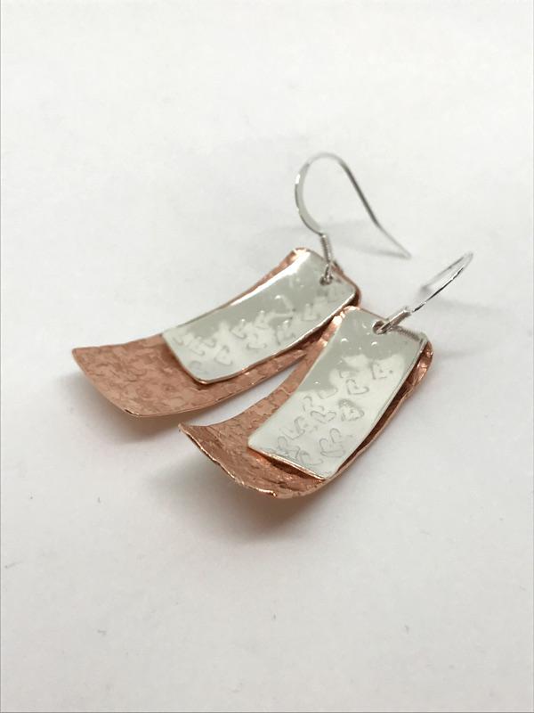 Big dangle earrings