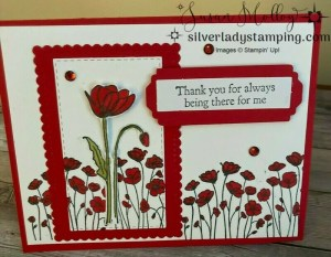 Painted Poppies Mother's Day Card