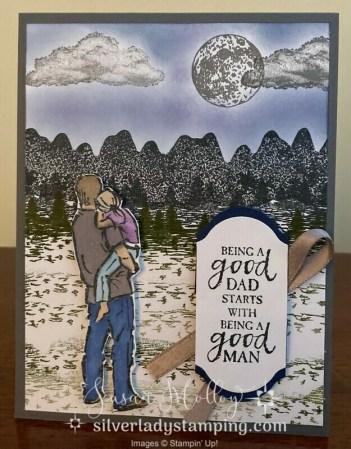 A Good Man card
