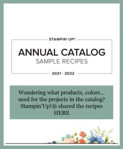 Catalog Card Recipes plus Earn Extra Rewards!