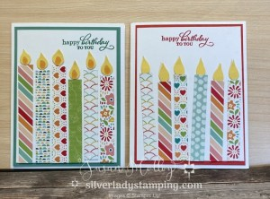 Break out your DSP scraps and make a simple but cute birthday card.