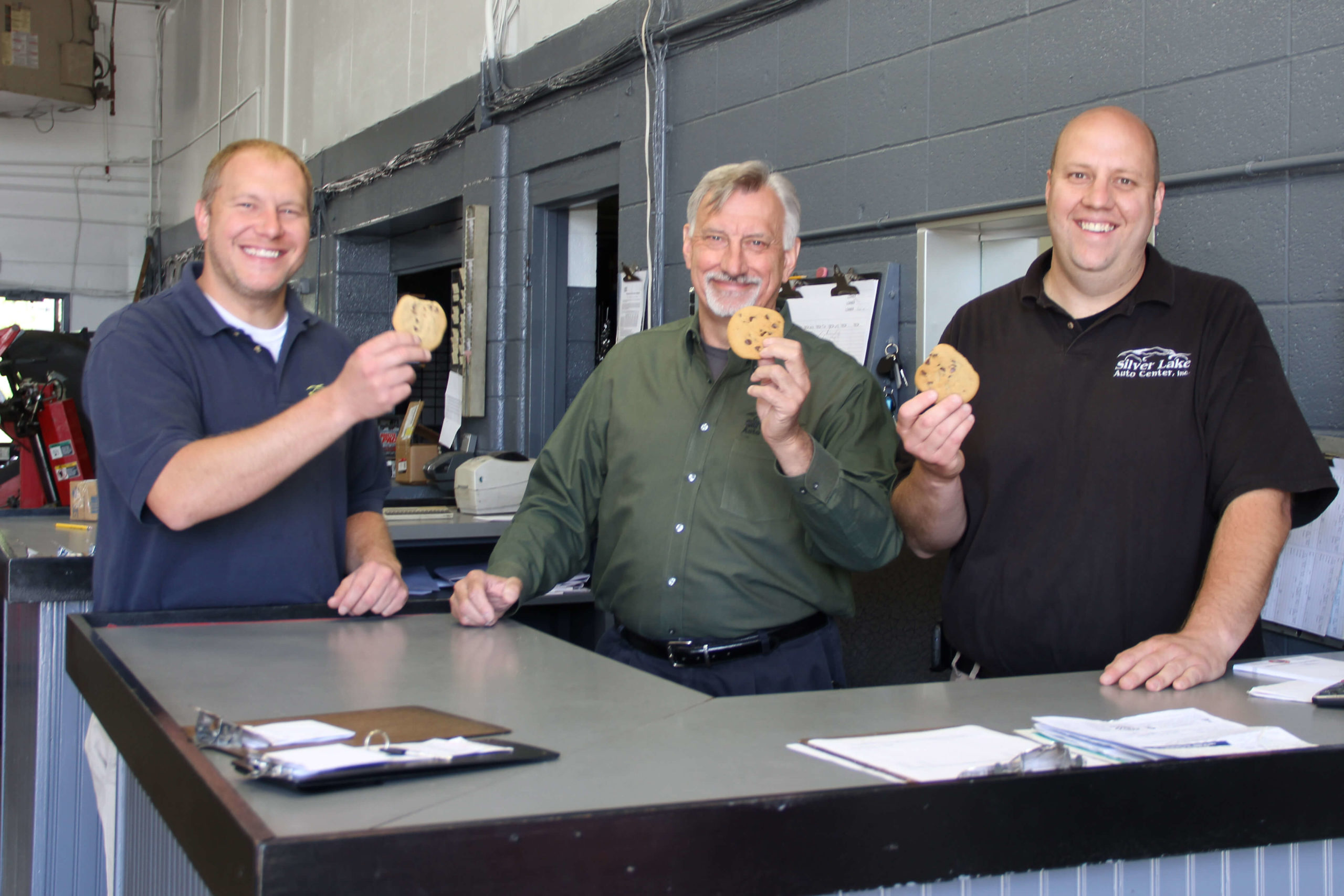 Fresh Cookies at Silver Lake Auto & Tire Centers