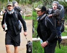 Celebrities at Runyon Canyon Park