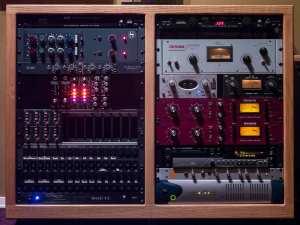 Vintage style recording studio