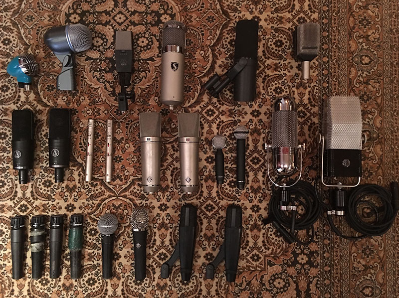 Vintage Recording Studio Equipment