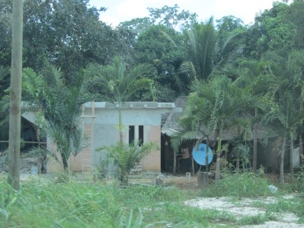 House in the jungle, Quintana Roo, Mexico, Copyright Silverleaf 2014
